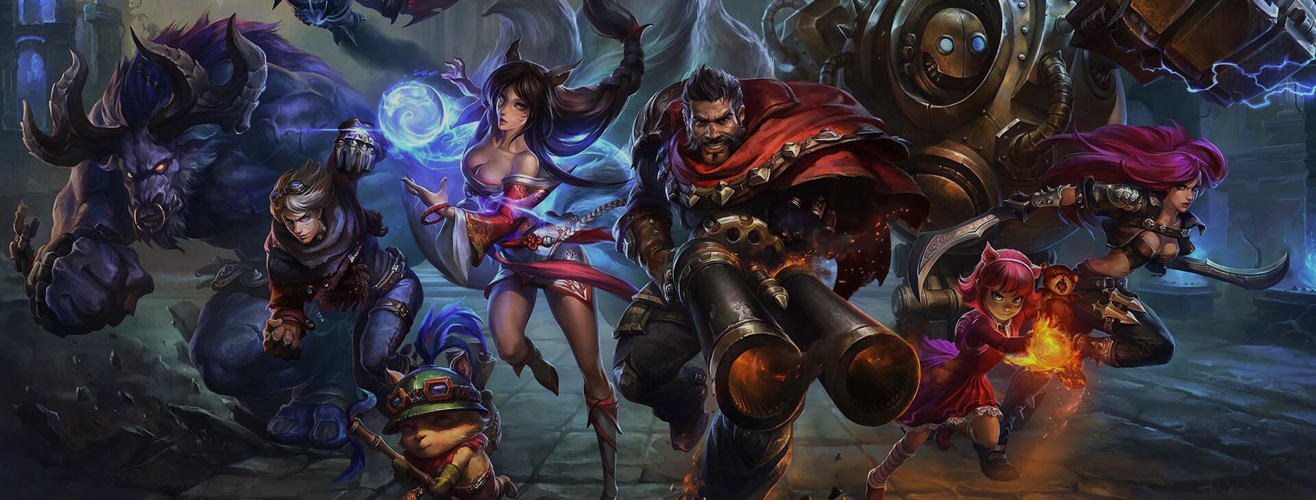 League of Legends - Social creatives, launcher
