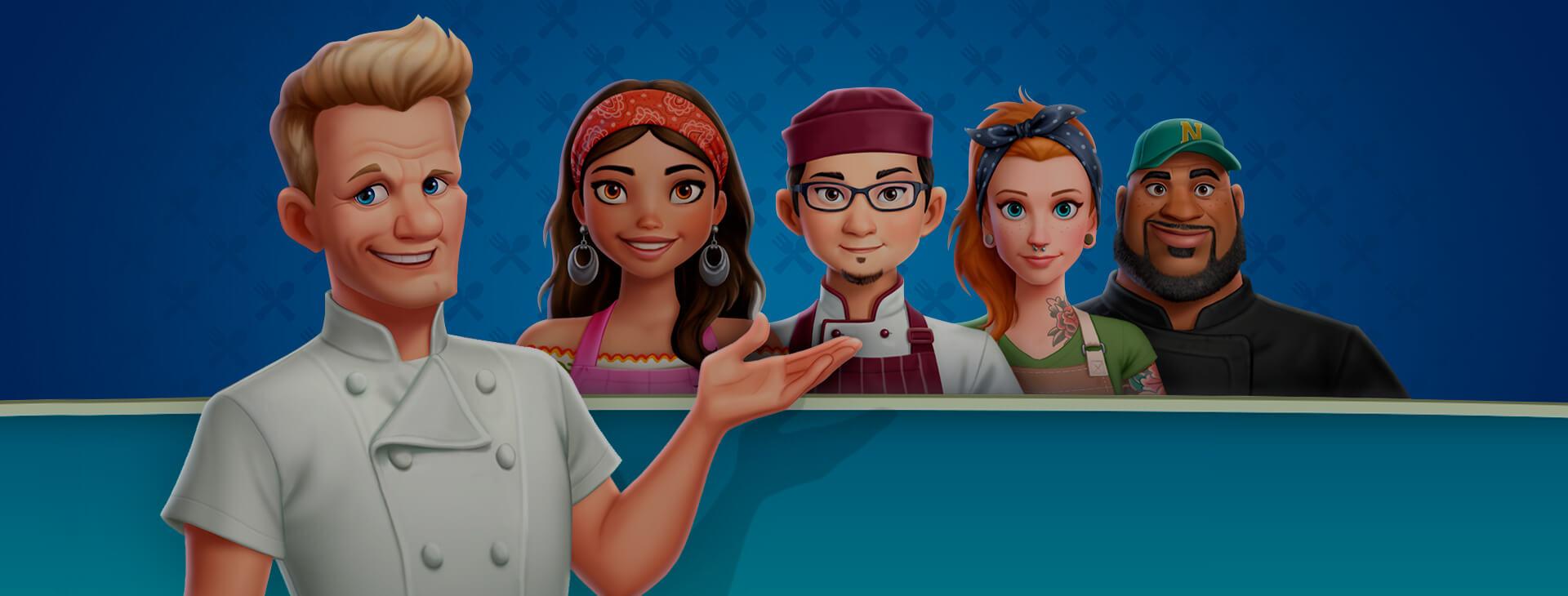 Gordon Ramsay: Chef Blast - Brand Content & Social Media Ads